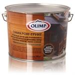 """""""ОЛИМП"""" Омикрон-Грунт – Состав для грунтования и биозащитной обработки древесины 9л"""