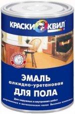 Купить  Квил Эмаль для пола алкидно-уретановая износостойкая 0,9кг - купить с доставкой с доставкой