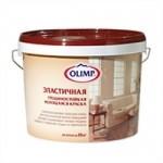 Купить Олимп ОЛИМП эластичная латексная трещиностойкая моющаяся, матовая 10л - купить с доставкой с доставкой