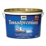 Купить Jobi JOBI FASSADPREMIUM суперстойкая матовая акриловая 10л - купить с доставкой с доставкой