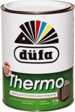 """""""Dufa"""" Эмаль Thermo для отопительных приборов глянцевая алкидная белая  0,75л"""