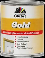 """""""Dufa"""" Краска Gold золотистая 0,125л"""