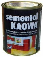 """""""Quilosa"""" SEMENTOL KAOWA Краска «Под дерево» Краска имитирующая цвет и внешний вид дерева 0, 75л"""