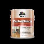 Купить  Dufa Лак Parkettlack паркетный полуматовый цветной ( сосна, дуб, тик, св. дуб ) 2,5л - купить с доставкой с доставкой