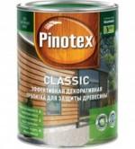 Купить Отзывы о Akzo Nobel Pinotex Classic алкидное деревозащ. текстурное покрытие 3л с доставкой