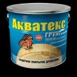Купить  Рогнеда Акватекс - грунт антисептик ( бесцветный ) на алкидной основе 10л - купить с доставкой с доставкой
