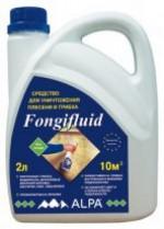 Купить Отзывы о Alpa Фонгифлюид фунгицид состав против плесени и грибка 5л с доставкой
