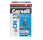 Купить  Ceresit Клей СМ11 для плитки для внутренних и наружных работ 5кг - купить с доставкой с доставкой