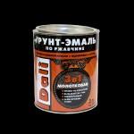 Купить Отзывы о Рогнеда Dali Грунт - эмаль по ржавчине Три в одном молотковая 0,75л с доставкой