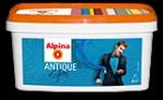 Купить Отзывы о Alpina Antique Effekt Прозрачный специальный лак с эффектом растрескивания в античном стиле 1л с доставкой