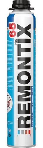 Купить Remontix REMONTIX PRO 65 Монтажная пена профессиональная выход 65л - купить с доставкой с доставкой