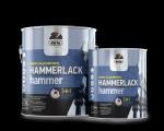 Купить  Dufa Hammerlack Эмаль по металлу на ржавчину c молотковым эффектом 0,75л - купить с доставкой с доставкой