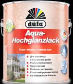 Купить Отзывы о Dufa Aqua-Hochglanzlack Эмаль глянцевая акриловая 0,75л с доставкой