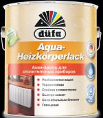 Купить Отзывы о Dufa  Dufa Aqua-Heizkorperlack Эмаль для отоп. приборов глянцевая акриловая 2,5л с доставкой